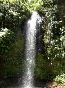 Toraille Waterfall, St. Lucia